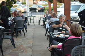 patio dining Chattanooga