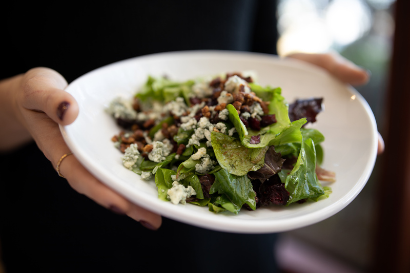 Come to our Chattanooga restaurant and try our seasonal menu items, like this fresh Pecan Salad, before they're gone.