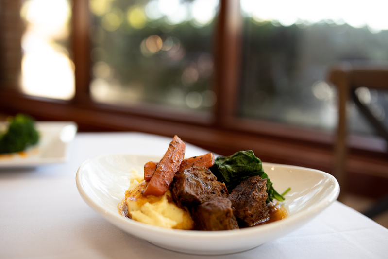 Come to our Chattanooga restaurant and try our seasonal menu items like this delicious pot roast, before it changes!