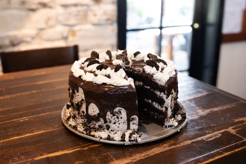 Our Hamilton Place restaurant features delicious, made-from-scratch desserts you can order by the slice or whole!