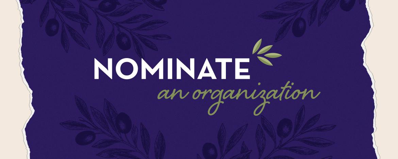 Nominate an organization