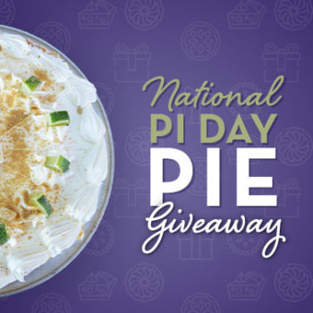 National Pi Day Pie Giveaway